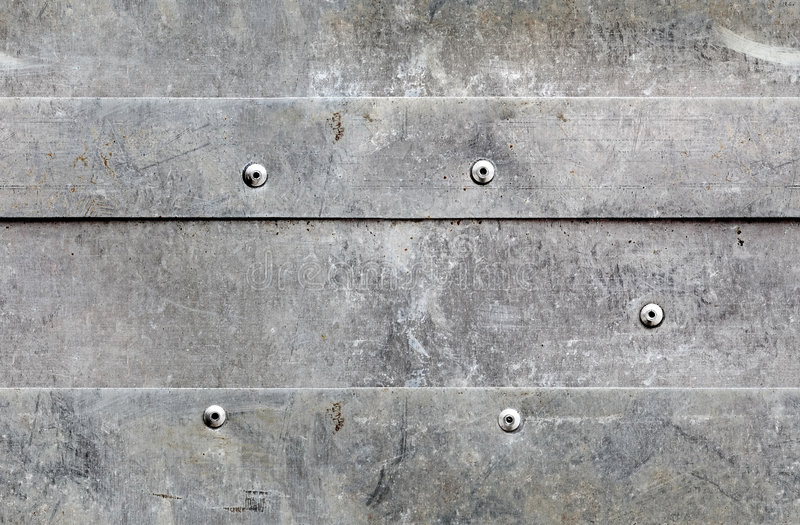 Seamless grunge aluminium background stock photo