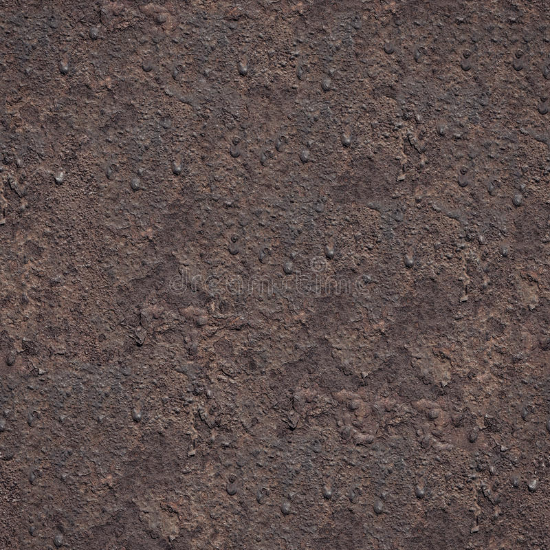 Seamless grunge metal rusty Iron background royalty free stock photos