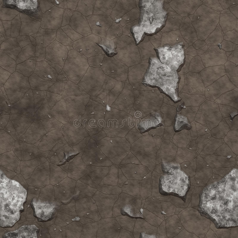 Seamless grunge textures and backgrounds stock illustration