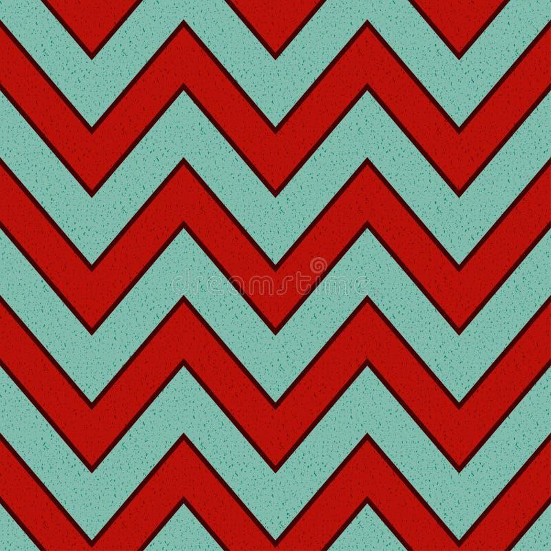 Seamless grunge zigzag paper pattern vector illustration