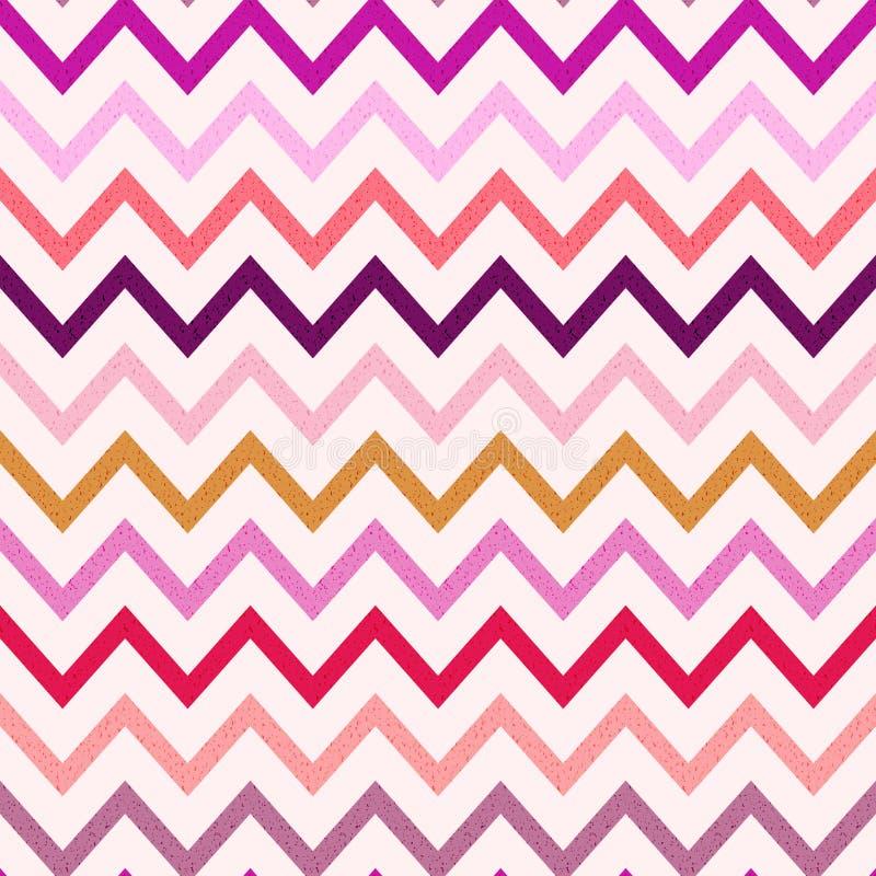 Free Seamless Grungy Texture Chevron Pattern Stock Photos - 51730703