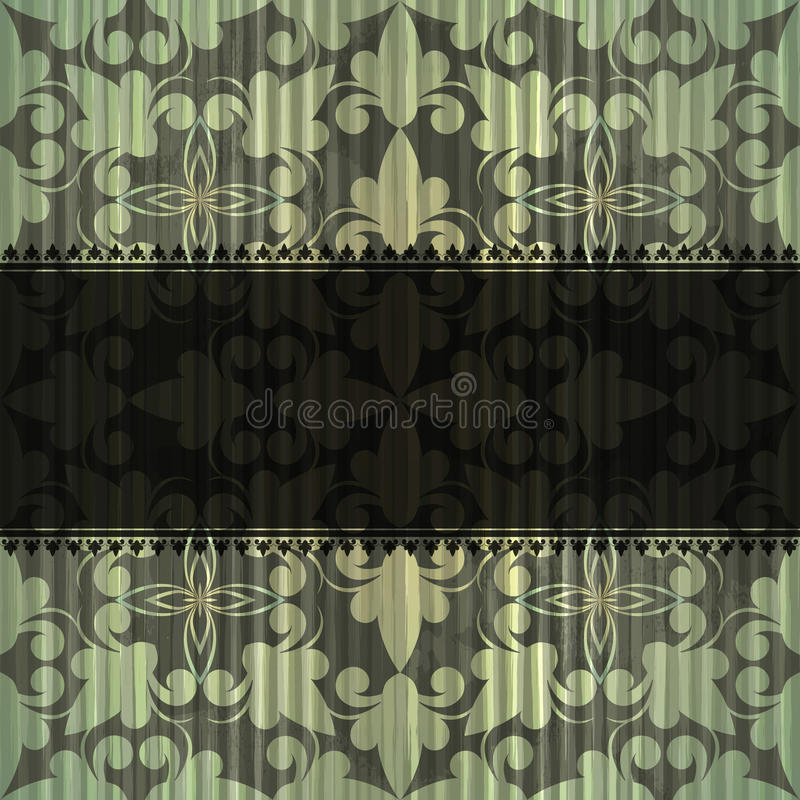 Download Seamless Grungy Vintage Pattern Stock Vector - Illustration of accurate, curl: 22059470