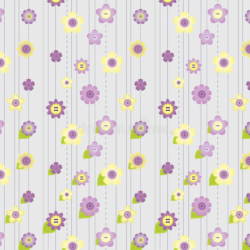 seamless häftklammer pattern1 stock illustrationer