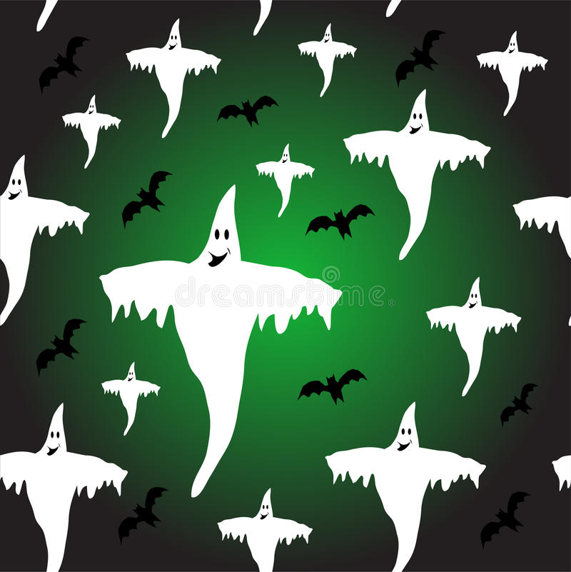 A seamless Halloween background royalty free stock image