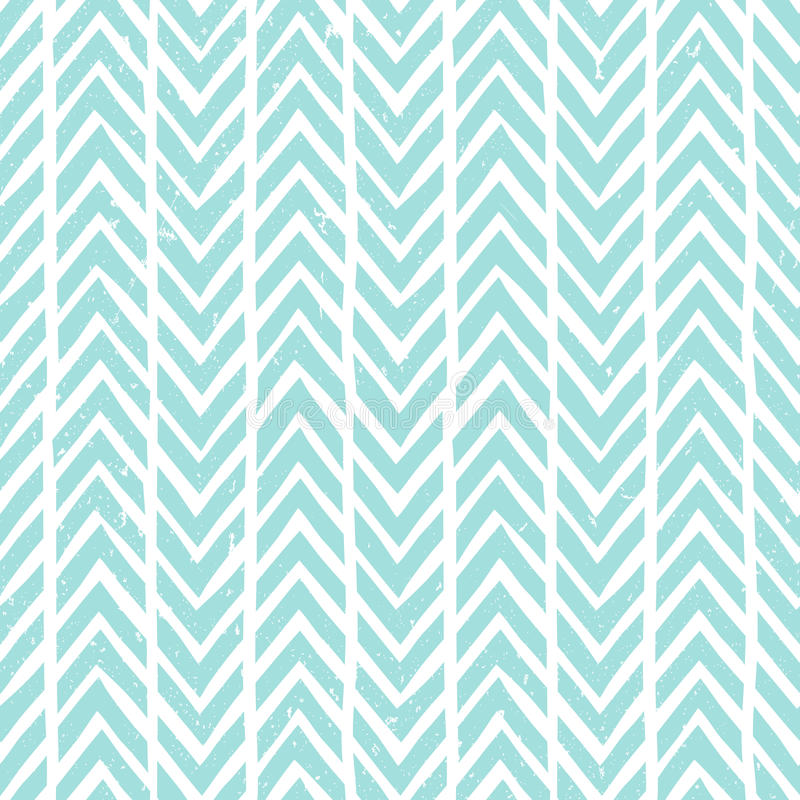 Seamless hand-drawn pattern in blue. Abstract vector background. vector illustration