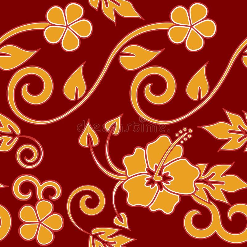 Download Seamless Hawaiian - Red stock vector. Image of hawaiian - 6504063