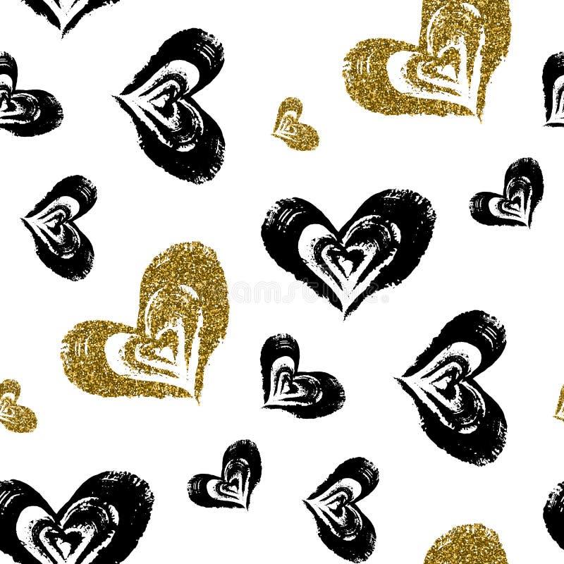 Seamless heart pattern. vector illustration