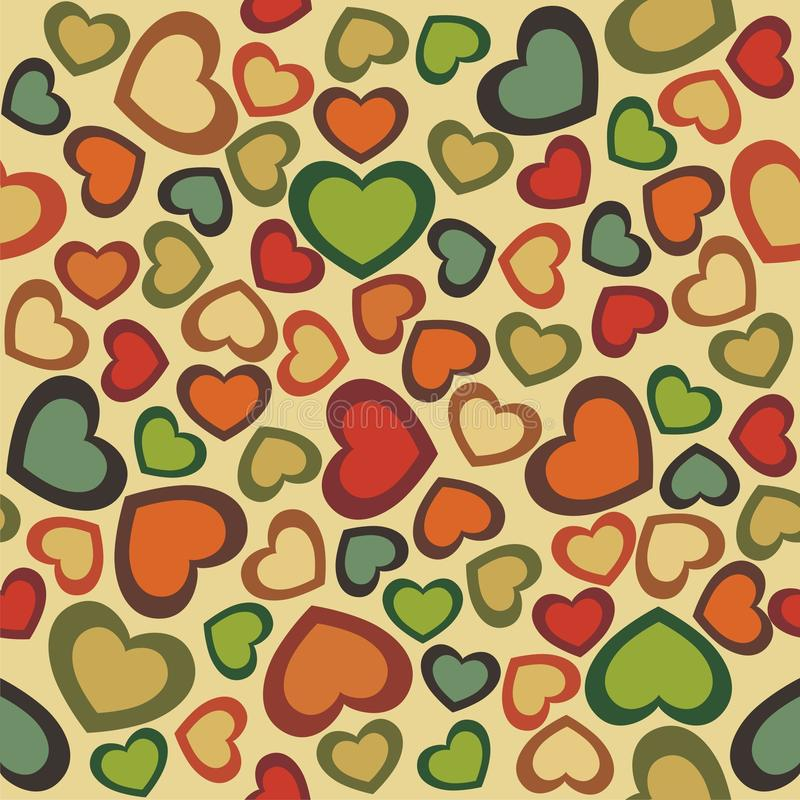 Free Seamless Hearts Royalty Free Stock Images - 17784629
