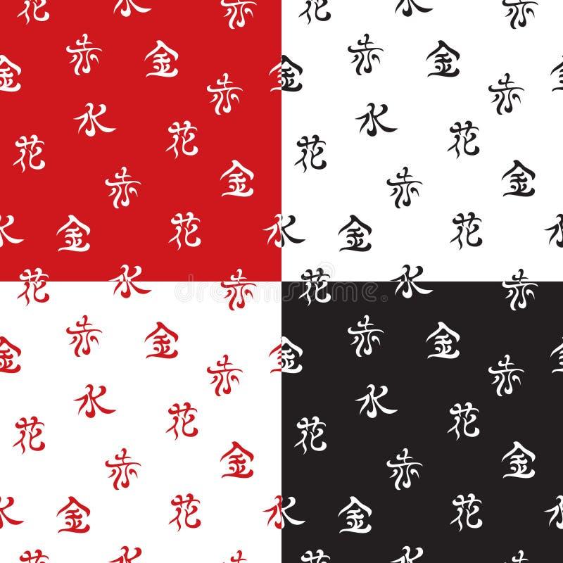 Download Seamless Hieroglyph Pattern Stock Vector - Image: 18156356