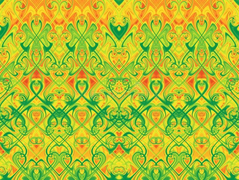 Seamless horizontal pattern. vector illustration