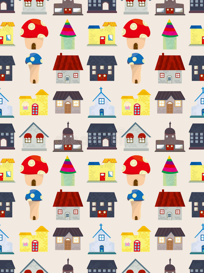 Download Seamless House Pattern Royalty Free Stock Photo - Image: 27919215