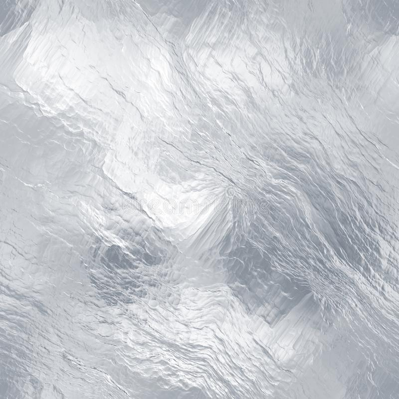 Seamless ice texture. (computer graphic, big collection royalty free stock photo