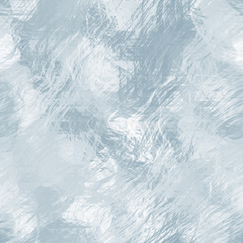 Seamless Ice Texture Winter Background Stock Image