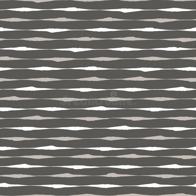 Seamless ink brush strokes pattern royalty free illustration