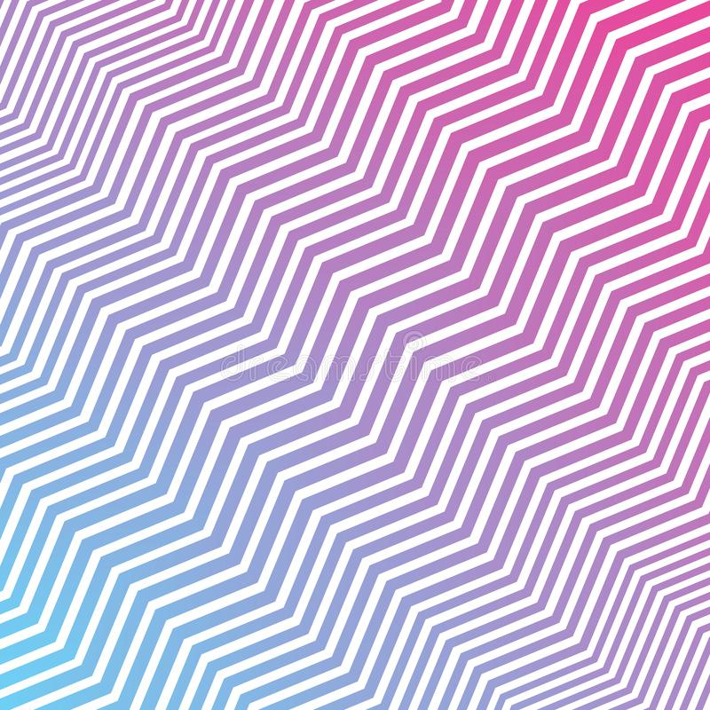 Free Seamless Interlacing Diagonal Pink Blue And White Zigzag Stripes Texture Background Royalty Free Stock Photography - 145539177