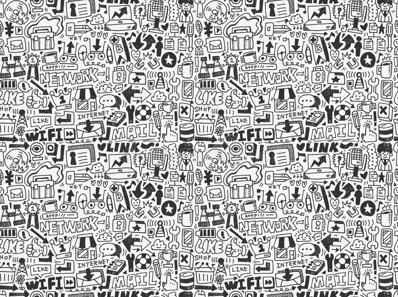 Download Seamless Internet Network Pattern Stock Photos - Image: 31755733