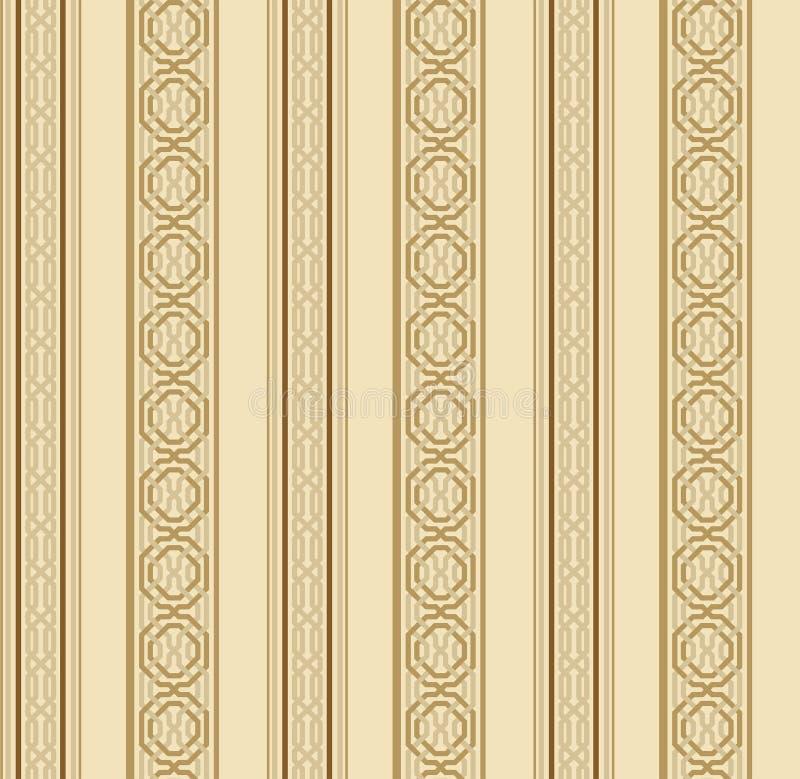 Seamless Islamic geometrical pattern. modern print design royalty free illustration