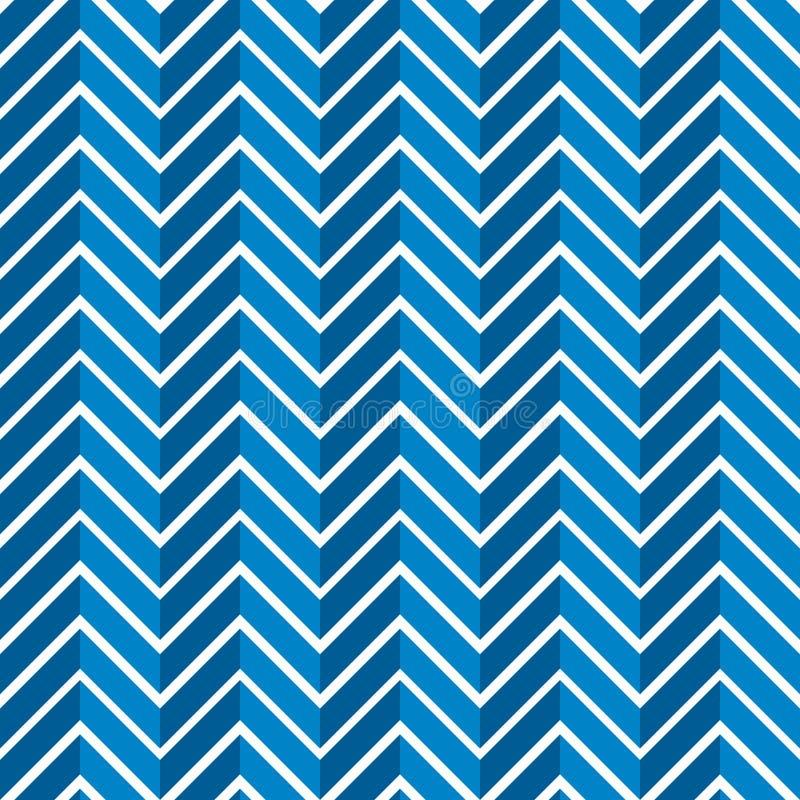 Seamless jagged chevron pattern background vector illustration