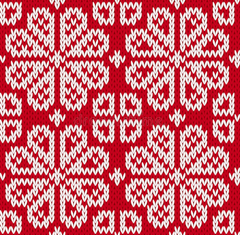 Download Seamless knitted pattern stock vector. Image of slavic - 32757001