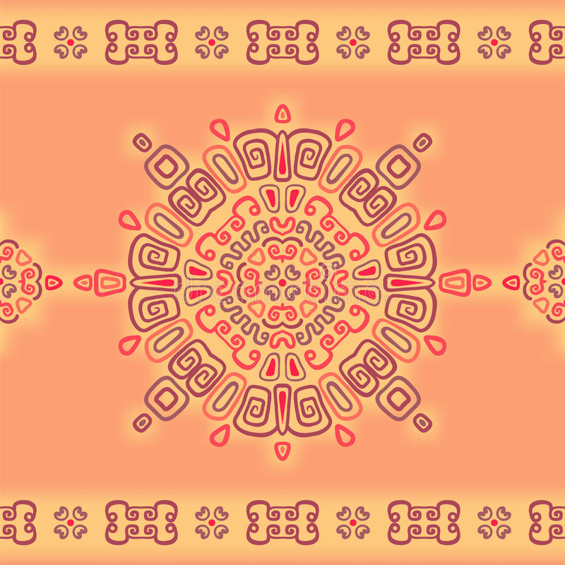 Download Seamless Lace Pattern In Ethnic Style. Stock Illustration - Image: 30964559