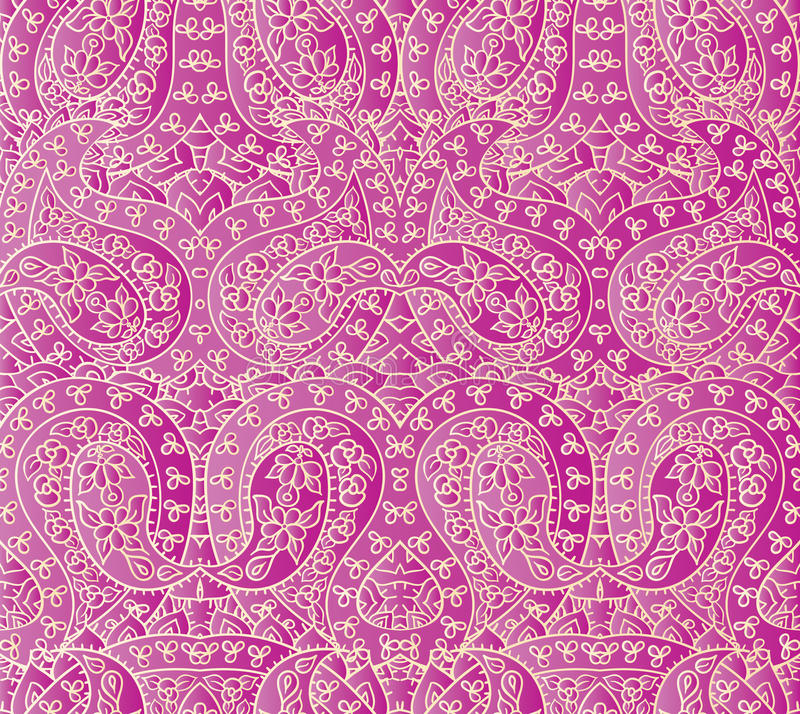 Seamless lace pattern vector illustration