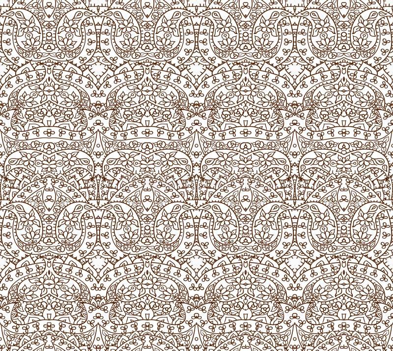 Seamless lace pattern, vector illustration royalty free illustration