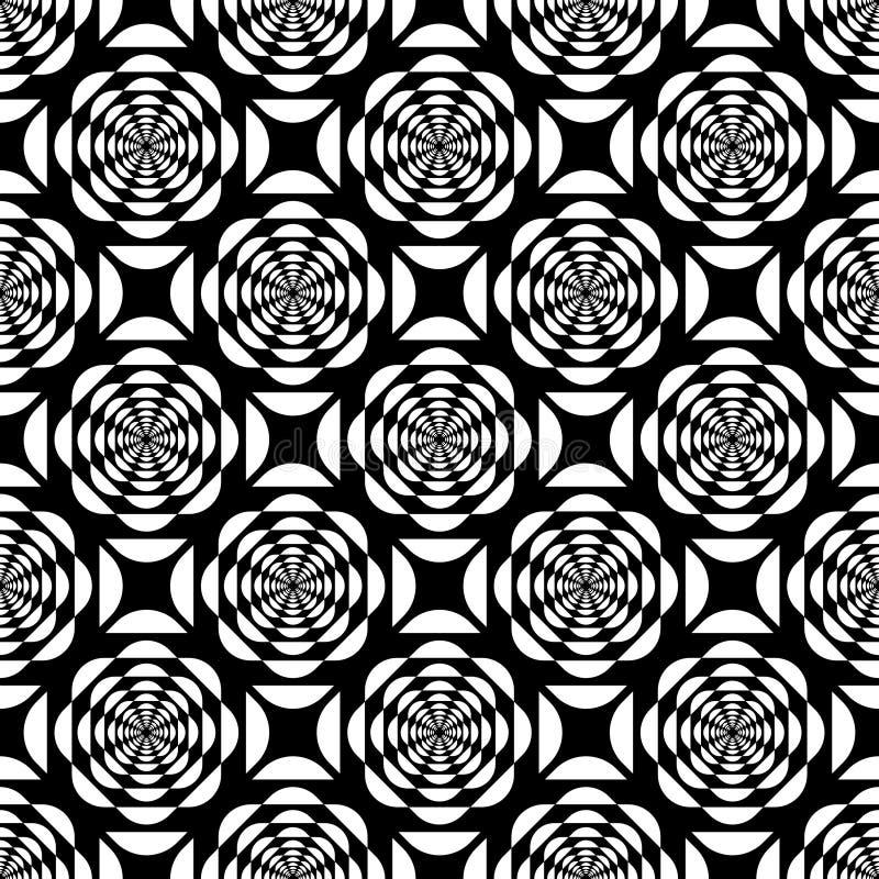 Seamless laced pattern. stock illustration