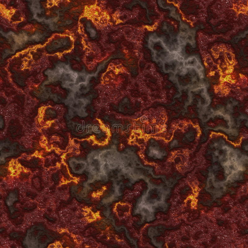 Seamless Lava royalty free illustration