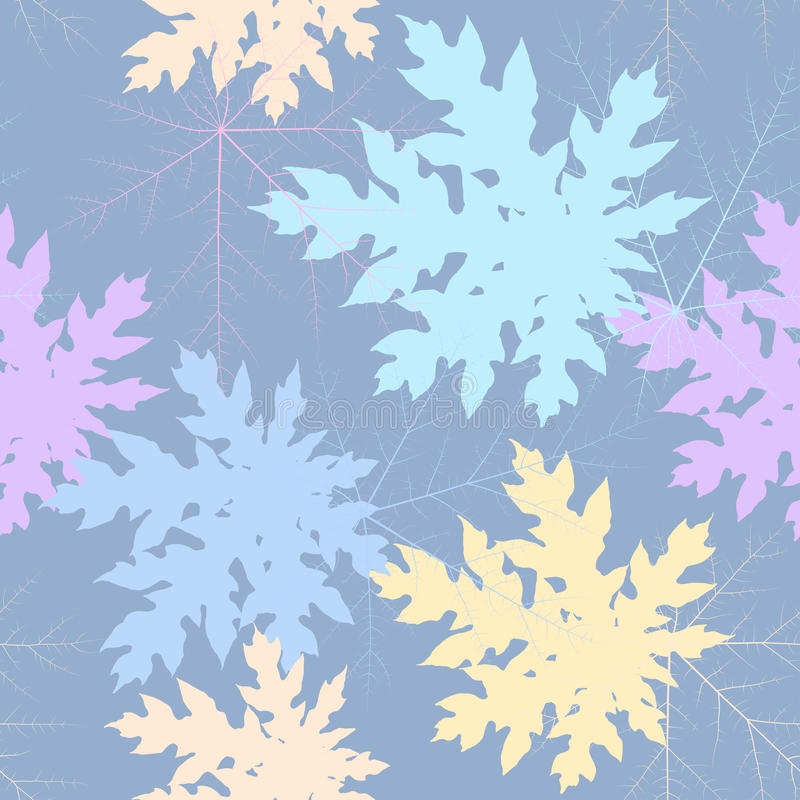Seamless leaf pastel stock photography