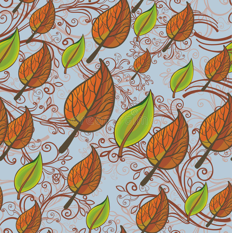 Download Seamless Leafy Background Stock Photo - Image: 22171160