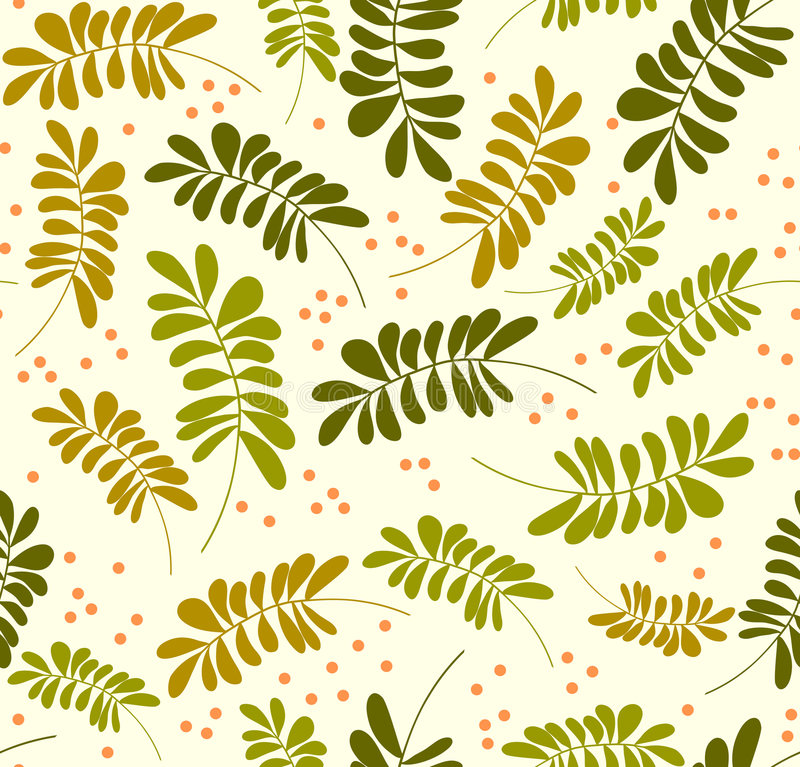 Download Seamless Leaves Pattern Royalty Free Stock Photo - Image: 8662305