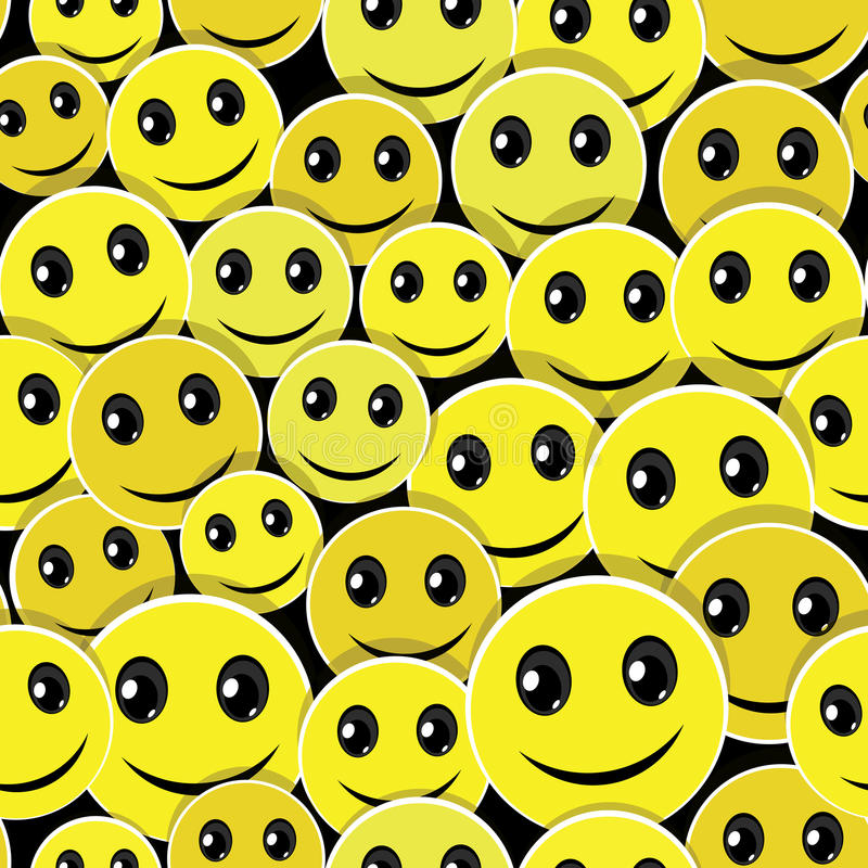 seamless leende för bakgrundsframsidamodell royaltyfri illustrationer