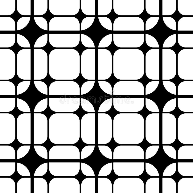 Seamless Liine Pattern. Vector Abstract Seamless Liine Pattern royalty free illustration