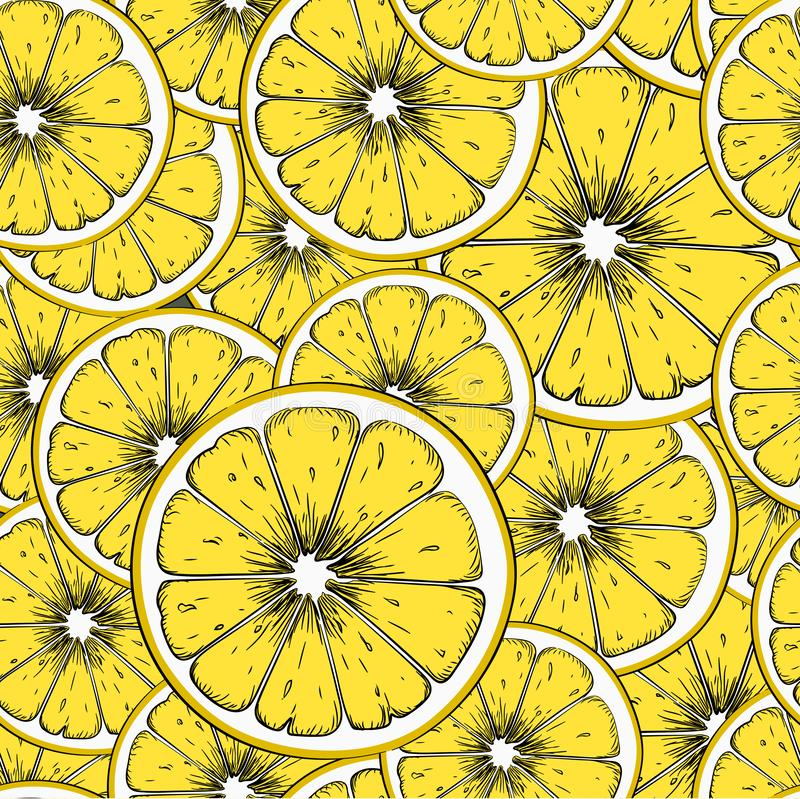 Seamless lime background. Can be used for background sites, fabrics, bymagi, etc. Vector illustration royalty free illustration