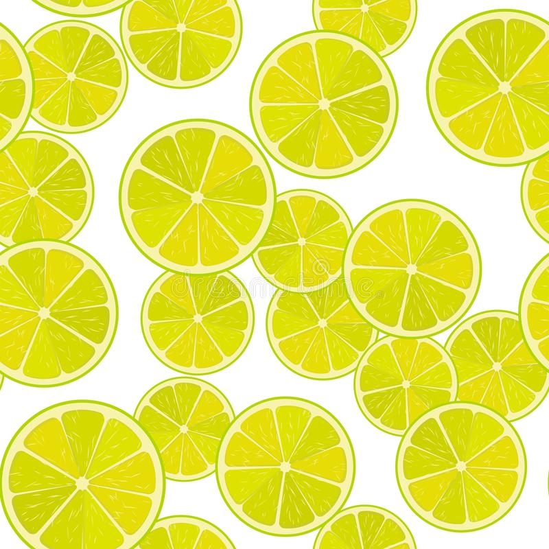 Free Seamless Lime Or Lemon Vector Pattern. Minimalistic Food Background. Vitamins Repeatable Texture. Royalty Free Stock Photos - 131691458