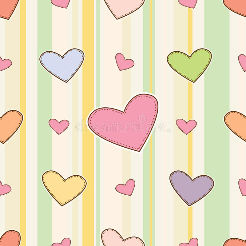 Download Seamless Love Pattern Royalty Free Stock Photo - Image: 22017025