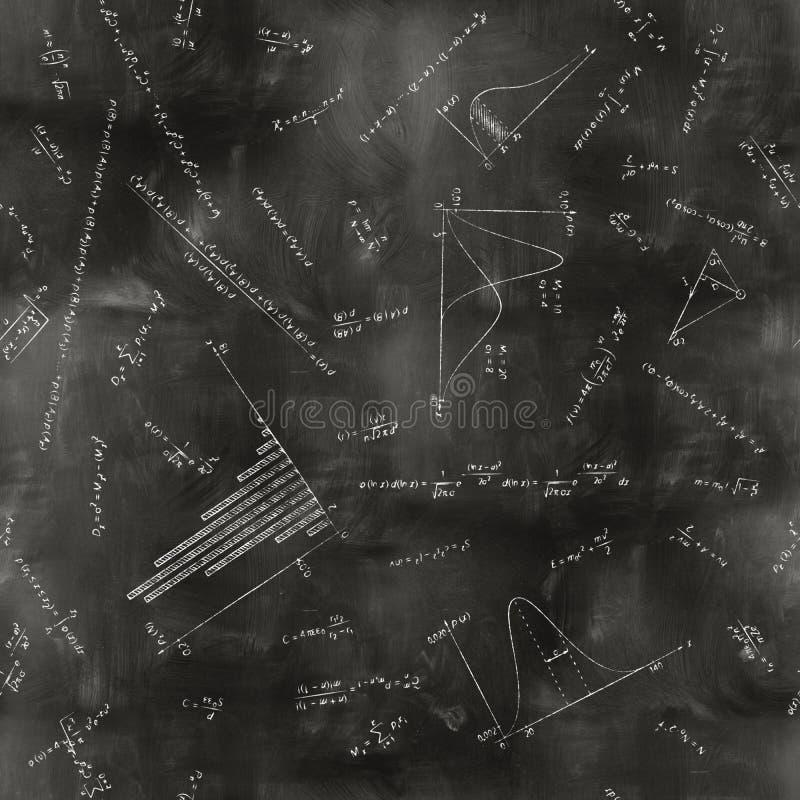 Download Seamless Math Physics Formulas On Chalkboard Stock Image - Image: 26834879