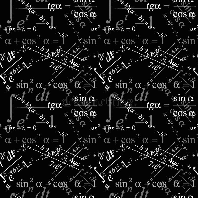 Download Seamless Mathematical Wallpaper Stock Vector
