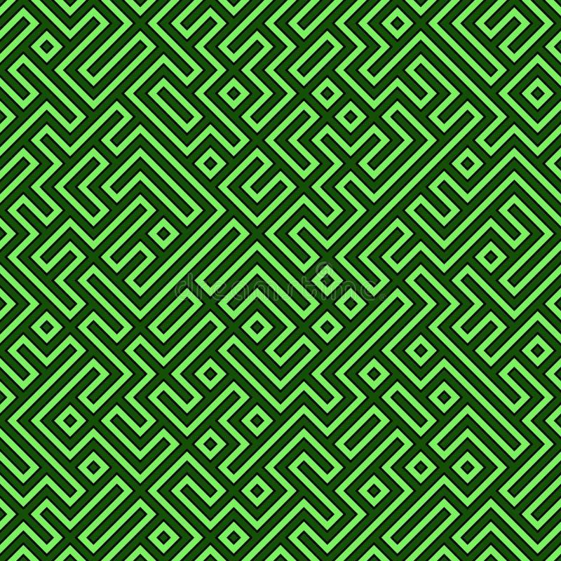 Seamless Maze royalty free illustration
