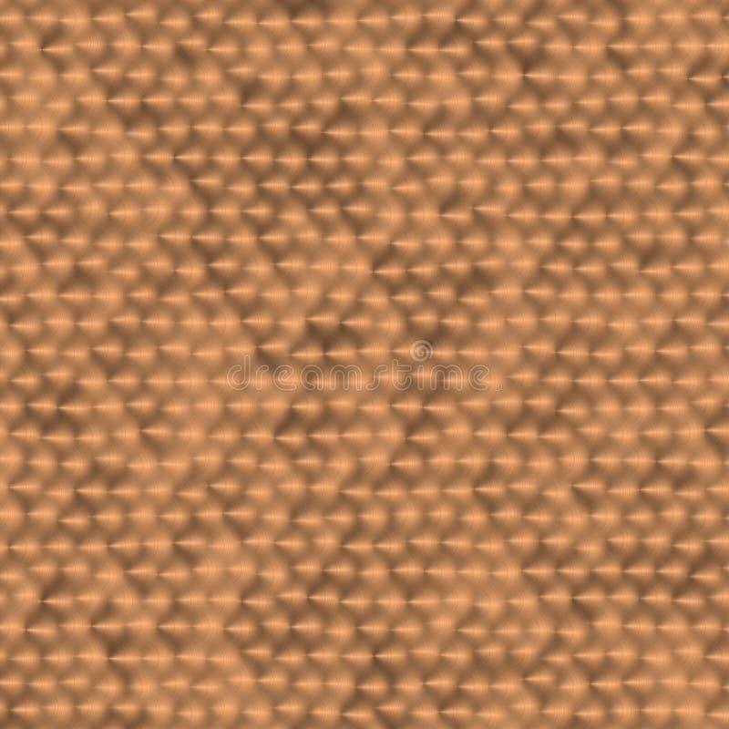 Download Seamless Metal Brush Texture Stock Illustration - Image: 12838765