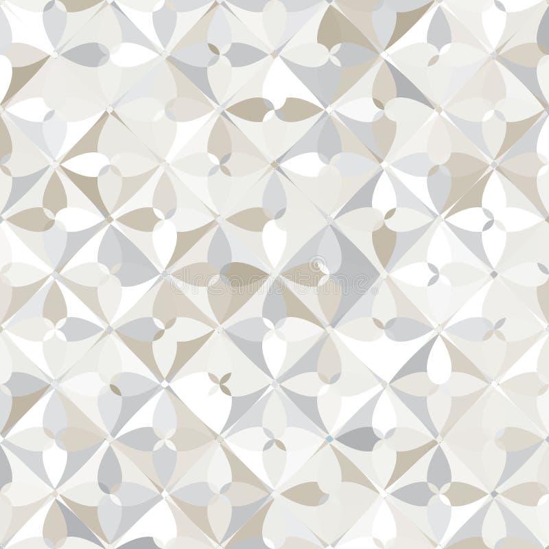 seamless modell Abstrakt geometrisk modern cirkelmodell royaltyfri illustrationer