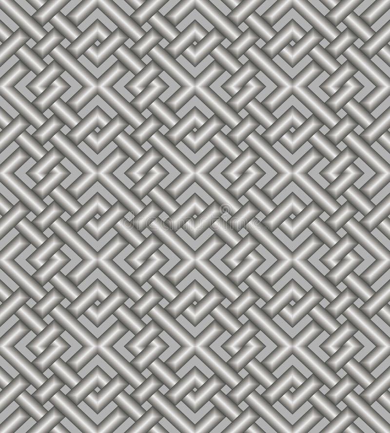 Seamless modell för ett tyg, papperen, tegelplattor. vektor illustrationer