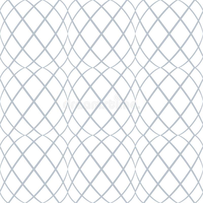 seamless modell Krabba linjer latticed textur vektor illustrationer