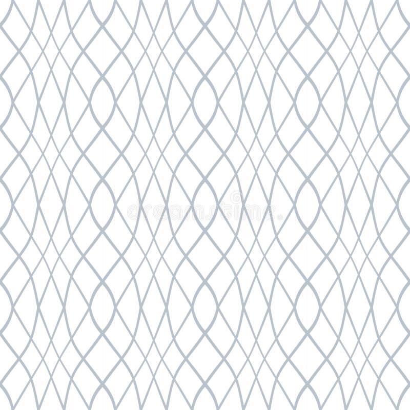 seamless modell Krabba linjer latticed textur stock illustrationer