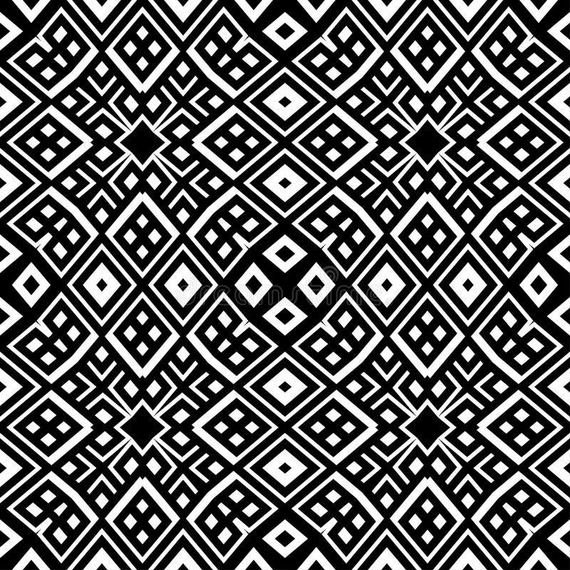 seamless modell Upprepa geometrisk textur vektor illustrationer