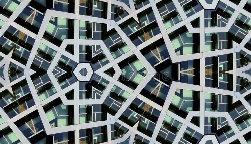 Download Seamless Modern Building Background Stock Illustration - Image: 6698940