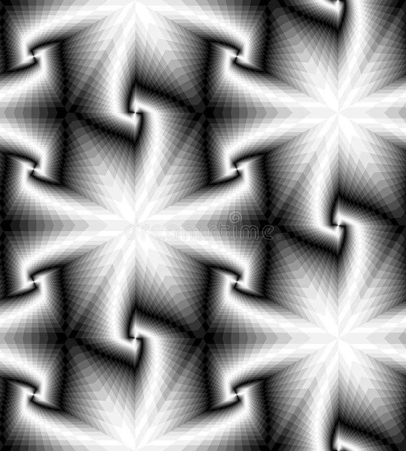Free Seamless Monochrome Polygonal Geometrical Pattern Gently Shimmering From Light To Dark Tones Create The Illusion Of Depth Royalty Free Stock Photography - 76938947