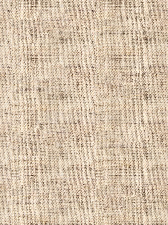 Seamless natural linen texture for the background. stock photo