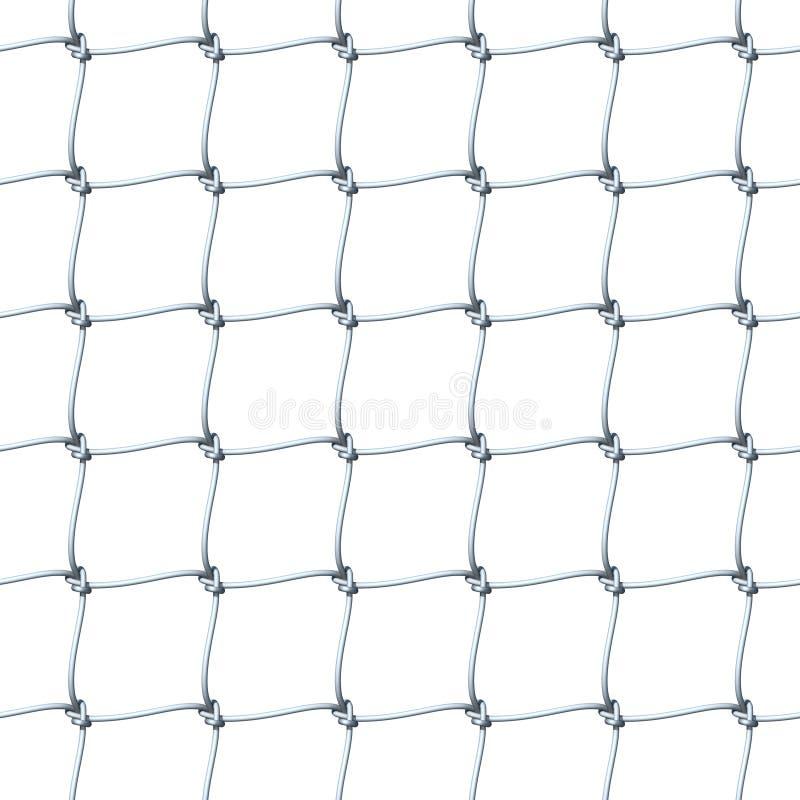 Seamless Net Texture stock illustration