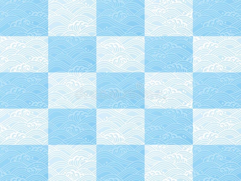 Download Seamless Ocean Wave Pattern Stock Vector - Image: 36962243